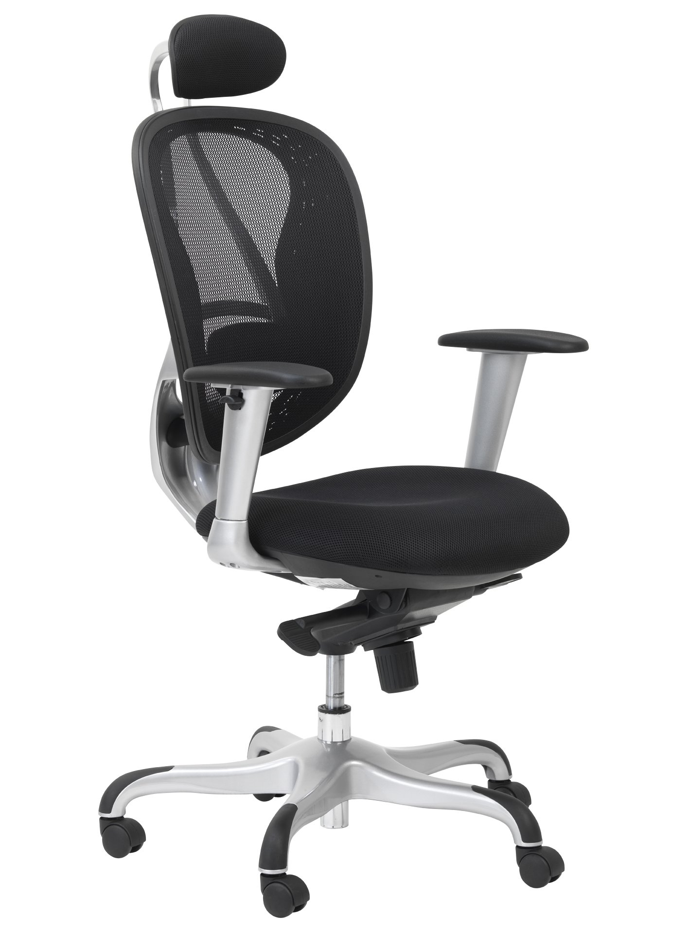 Blade black style mesh executive office chair - Armless office chairs uk ...