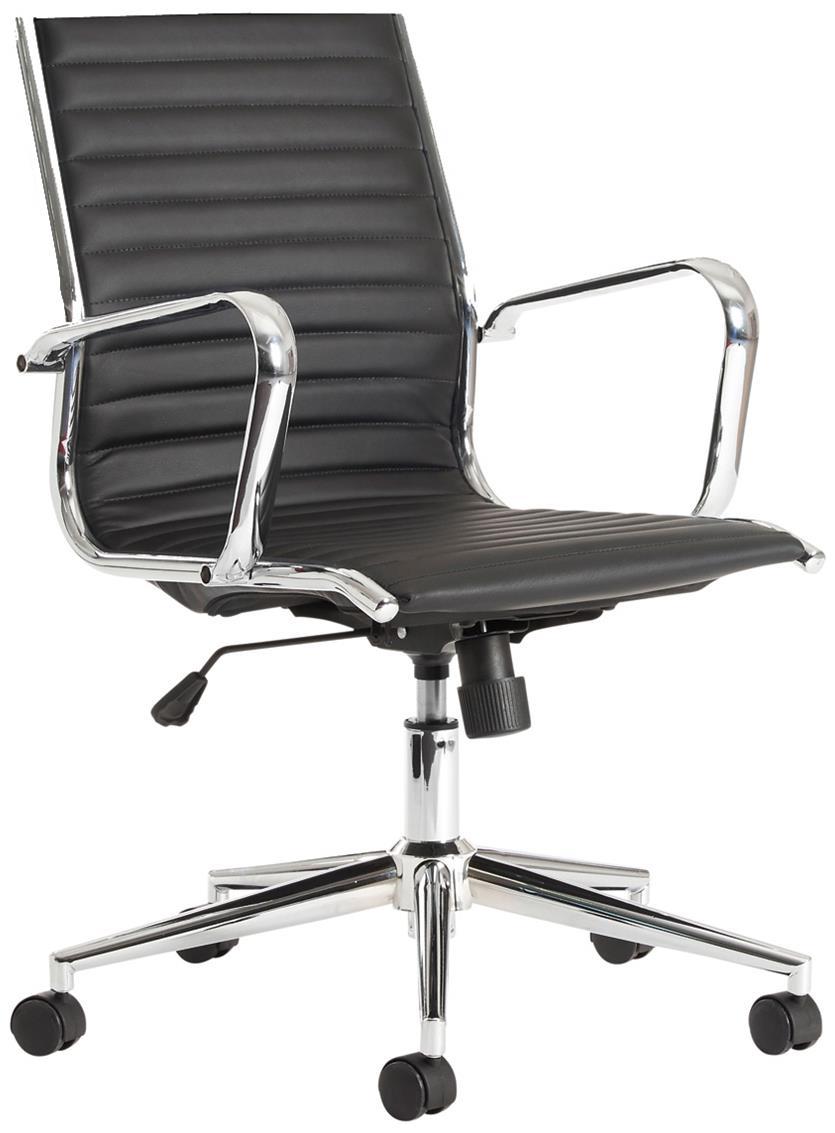 Batley Medium Back Leather Office Chair