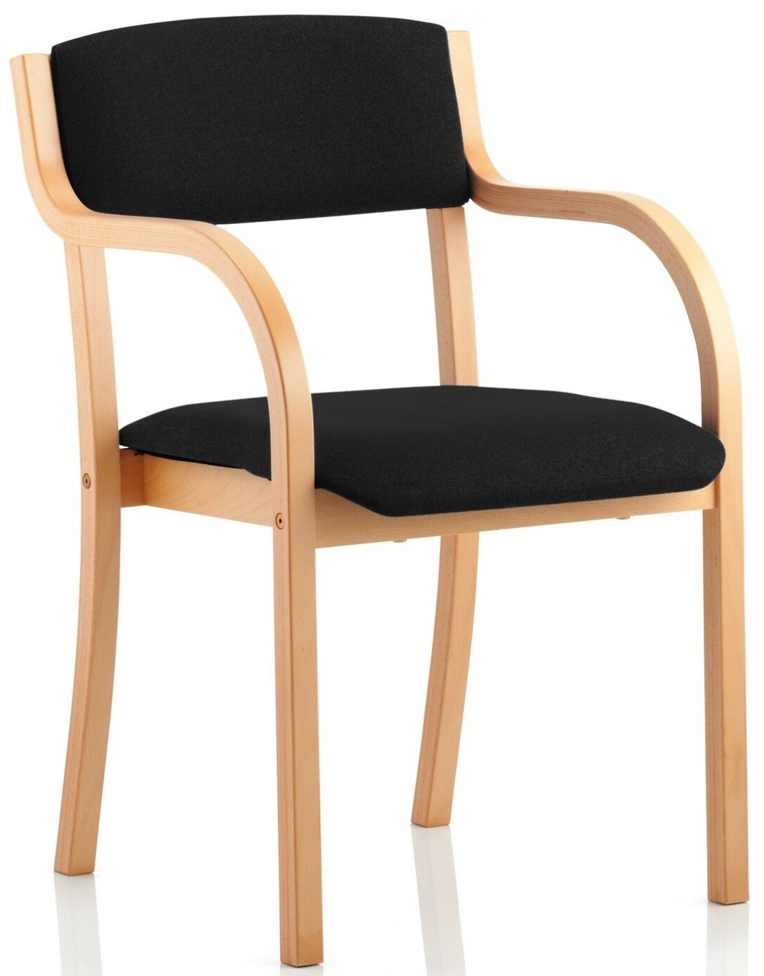 Madrid Wood Frame Visitor Chair