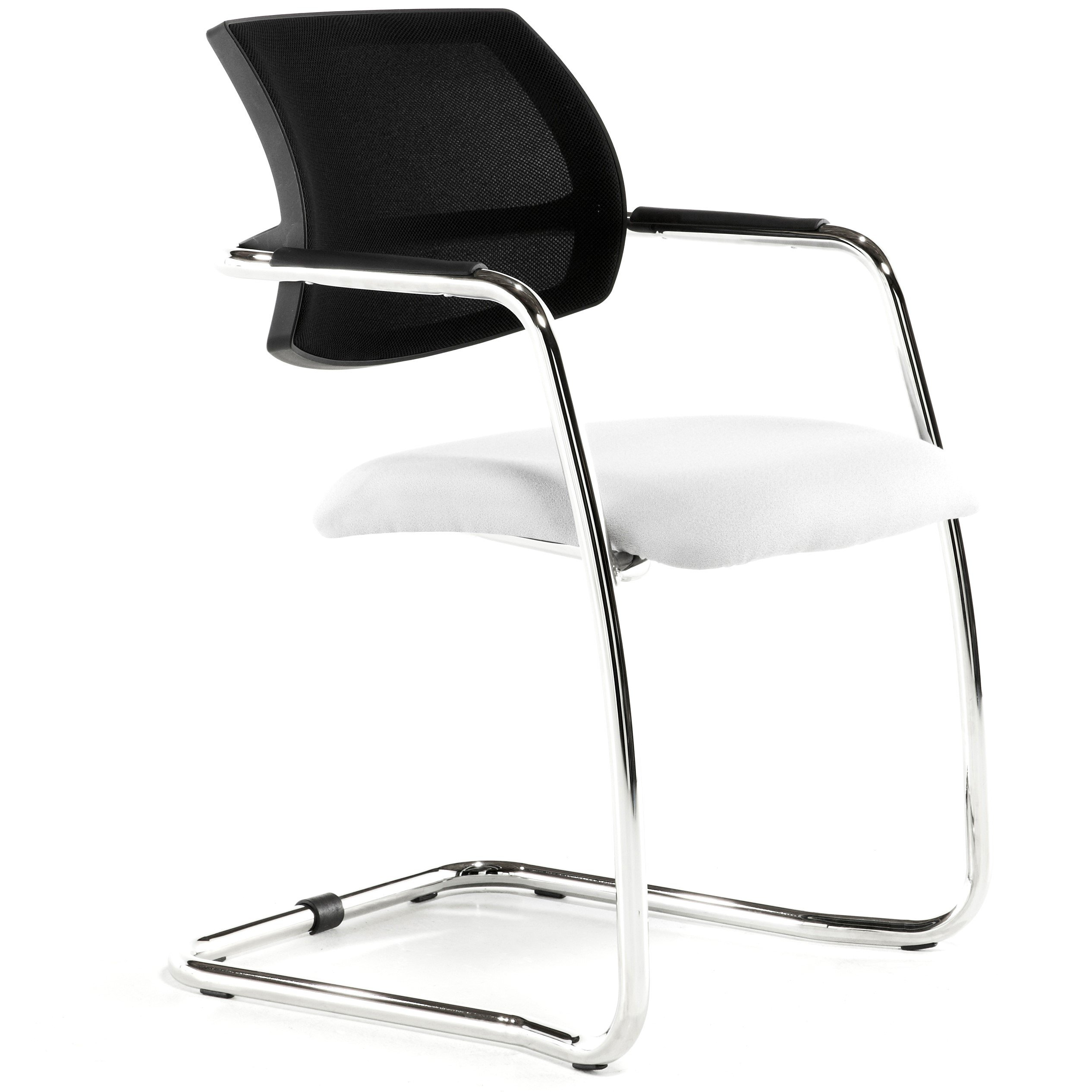 Malta Mesh Back Cantilever Visitor Chair