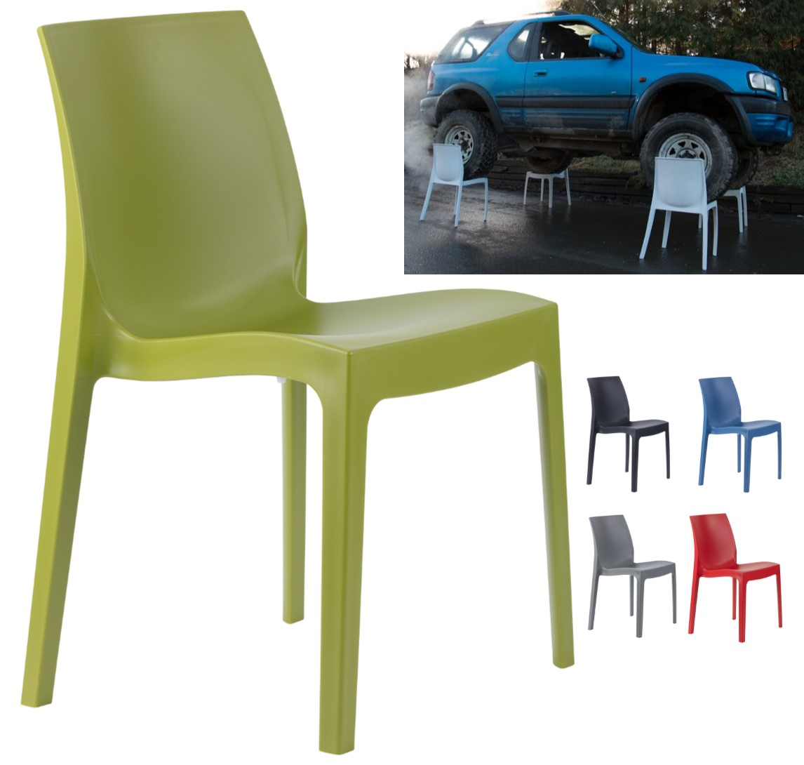 Strata Heavy Duty Polypropylene Stackable Visitor Chair